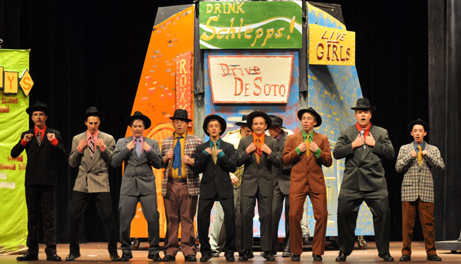 Gamblers Guys and Dolls at BHS