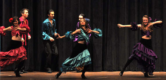 Havana dancers Guys and Dolls at BHS