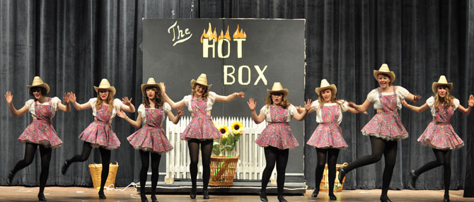 HotBox Dancers Guys and Dolls at BHS