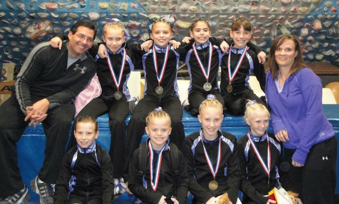 Level 6 Team CATS 1 Premier Gymnastics at the Turkey Tumbler