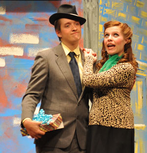 Nathan and mis Addie Guys and Dolls at BHS
