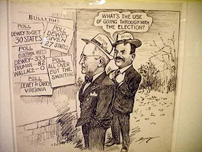 Whats the usewith the Election On This Day, November 3, 1948