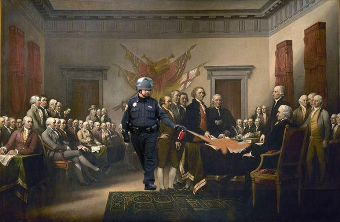 declaration custom 670x439 Escalating police brutality