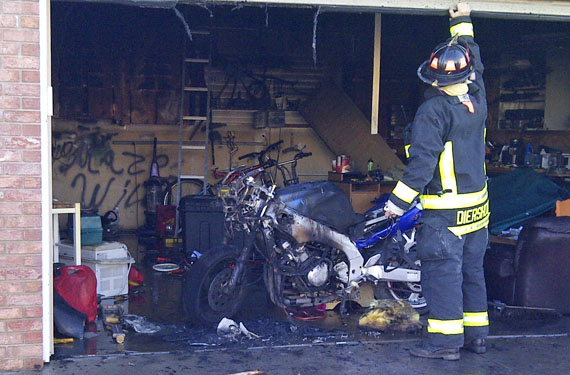garagefire greeley Greeley firefighters hold fire to garage
