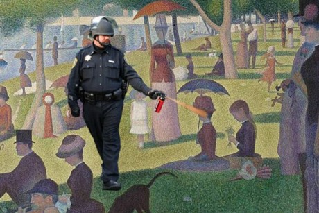 pepperspray detail 460x3071 The Pepper Spray Cop