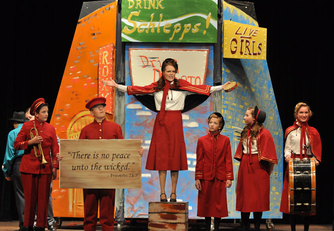 salvation army Guys and Dolls at BHS