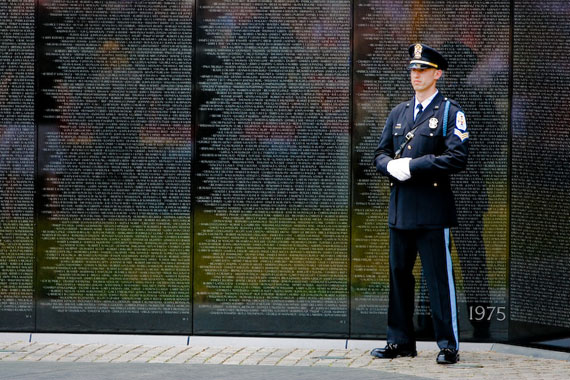 vietnam veterans memorial On This Day, November 13 1982