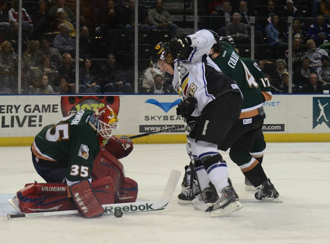 Eagles by Watkins 12041 Grizzlies Flip Script With 5 4 Shootout Win