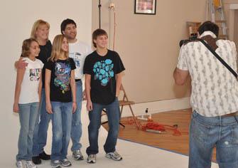 Help portraits IOOF holds Christmas party for Namaqua Kids