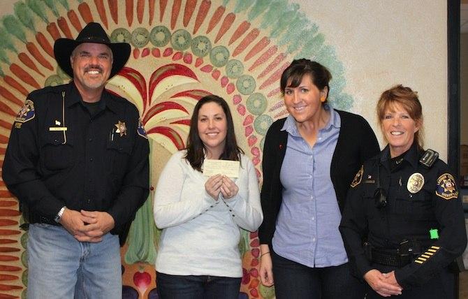 PosseFood Bank Donation The Sheriffs Posse Donates to Food Bank