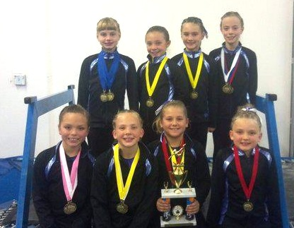 Premier Gymnastics2011 Level 4s2 Premier Gymnastics, Level 4 at state meet