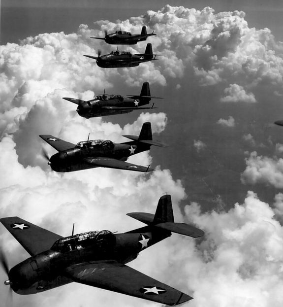 TBF Avengers On This Day, December 5 1945