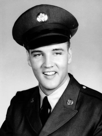 celebrities elvis presley 263152 On This Day, December 20, 1957