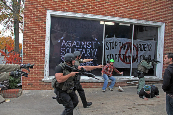 chapel hill by Katelyn FerralMonP.Em .156 Police vs Peaceful Protesters