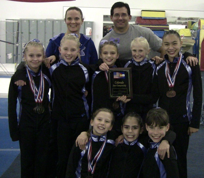 lEVEL 6 sTATE1 Premier Gymnastics scores well in state meet