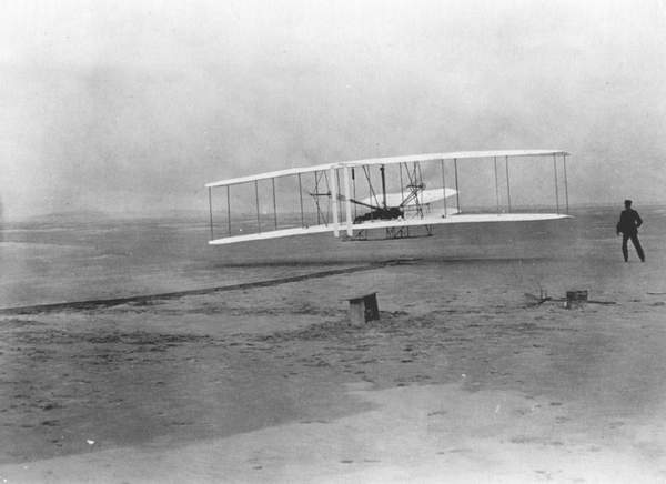picFFWrightFirstFlight On This Day: December 17, 1903