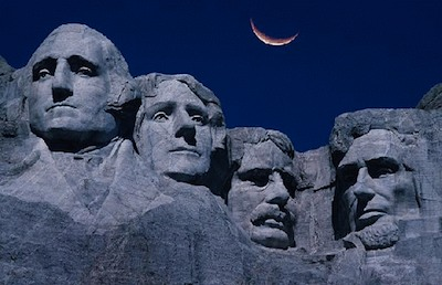 rushmore Mt. Rushmore After Dark, a conversation of patriots