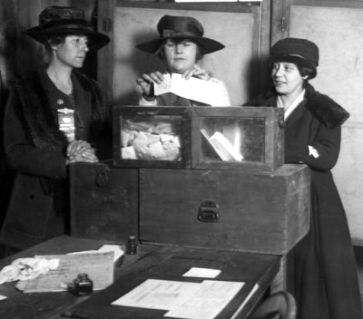 women vote ny 1917 On This Day: December 10, 1869