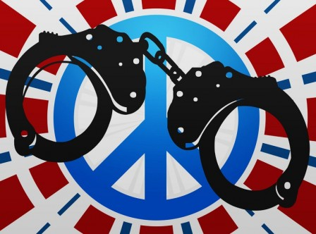Handcuffs USA, Land of the Free? Not any more