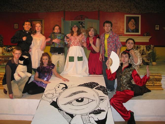 Harrington arts The Butler Did It