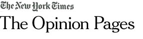 NewYorkTimes Opinion page Logo Springtime for Toxics