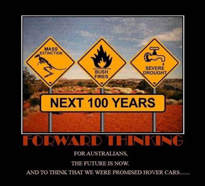 australiaclimatechange Death Threats for Climate Scientists