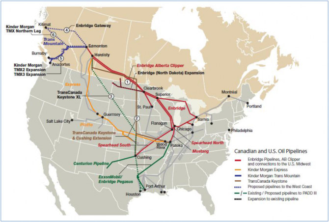 keystoneXL map 670x452 What do you know about the Keystone Pipeline?
