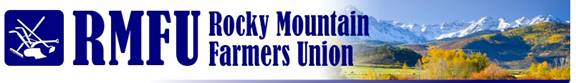 Rocky Mt Farmers Union1 Rocky Mountain Farmers Union Writes Congress on Oil Shale