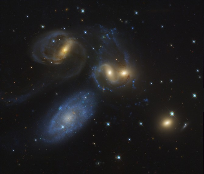 Stephans5 Kelly3000c 670x570 Astronomy Picture of the Day