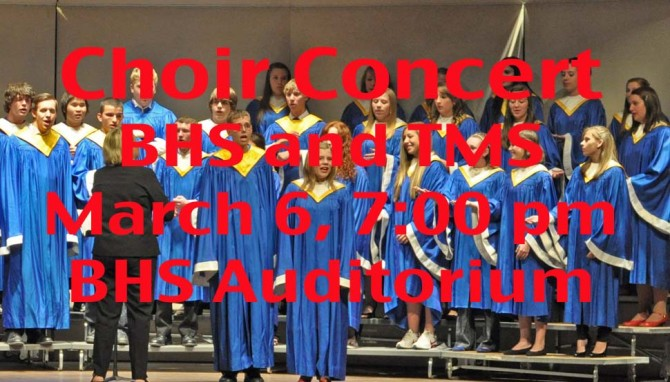 Choir 670x382 Choir Concert at Berthoud High School