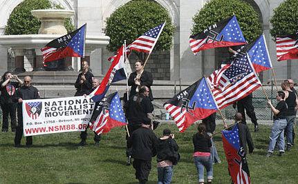 National Socialst movement.large  Vigilante spirit in the US justice system