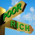 rich poor 56926 20120303 151 American middle class: dead?