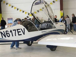 N617EV Light Sport Aircraft Expo