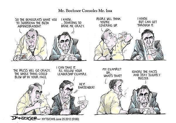 boehner issa1 Mr. Boehner consoles Mr. Issa