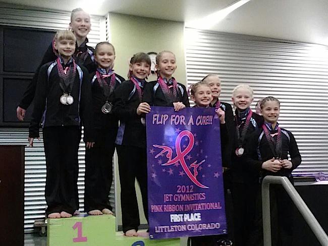 Jet Level 6 Premier Gymnastics shines at Jet Kids