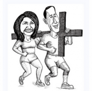 Santorum1 300x296 GOP plays the Christianity card