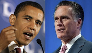 obama romney Leadership in the White House