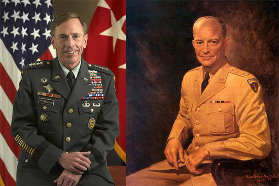 Generals Eisenhower Petraeus The Medals They Carried