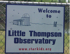 LTO sign 24 telescope working at LTO