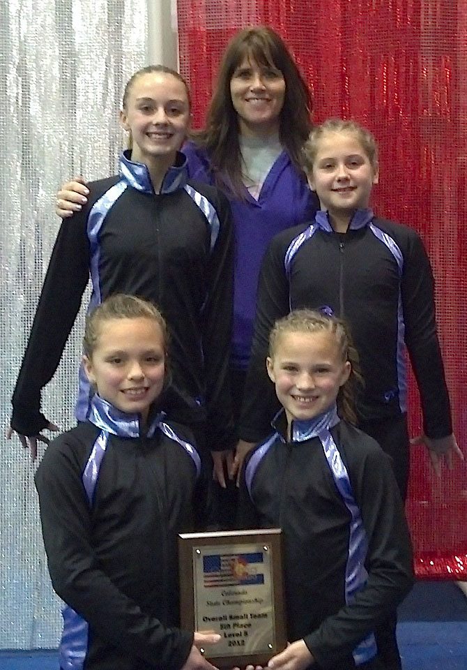 Level 5 State 20121 Loveland gymnasts do well in state level meet