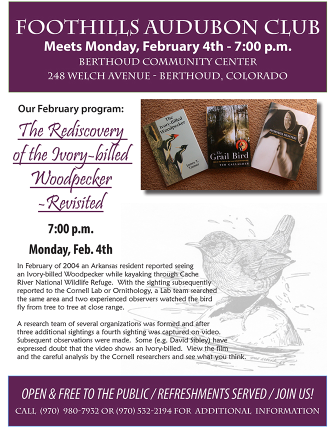 FAC flier February2013 Audubon
