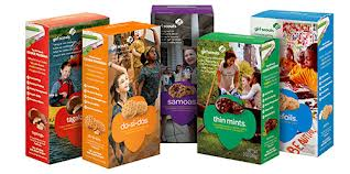Girl Scout cookies are here