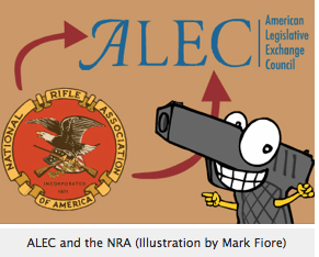 Shoot Em Up Charlie The History of the NRA/ALEC Gun Agenda