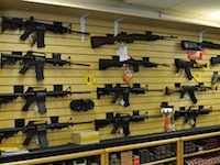 gun wall1 Newtown Truthers, NRA Dupes