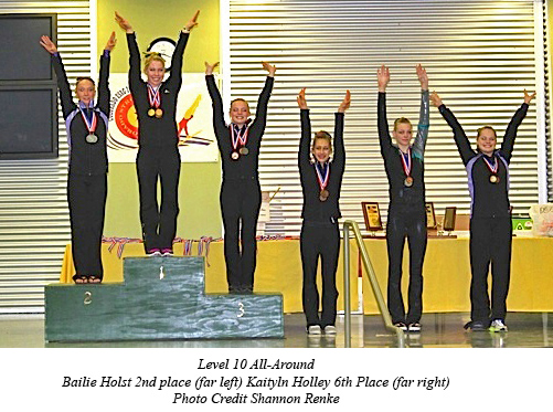 2013 State L10 AA Awards copy Premier Gymnastics results for Colorado Championship
