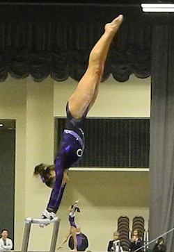 Bailie Northern Lights 2013 Bars Bailie Holst shines in gymnastics competition