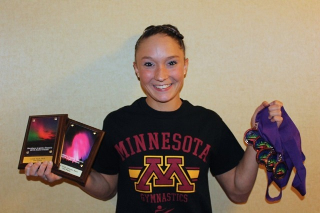 Bailie Holst shines in gymnastics competition