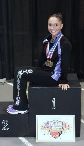 Bailie Regional 2nd Place All-Around