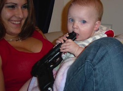 babies with guns Guns dont kill, babies do