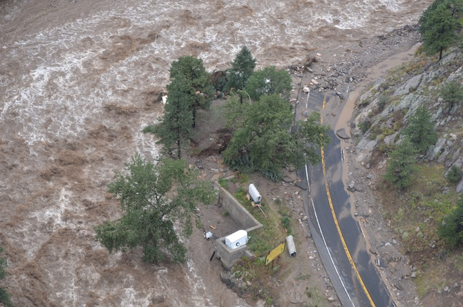 Indian Village Larimer County Flood Information
